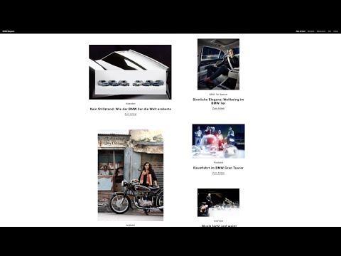 BMW Magazine  Showreel