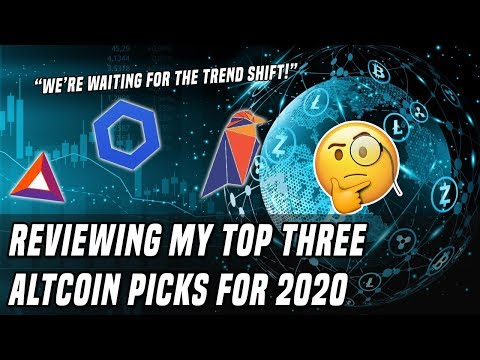 Analyzing Altcoins   Reviewing My Top 3 Coins
