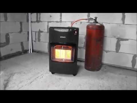 Газовый инфракрасный обогреватель. Бюджетное отопление гаража или строительного объекта.
