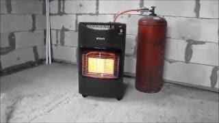 Газовый инфракрасный обогреватель Бюджетное отопление гаража или строительного объекта
