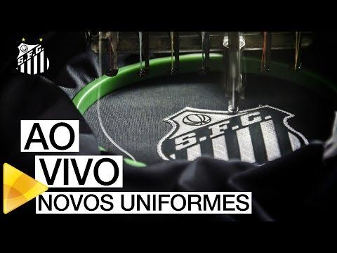 AO VIVO | Lançamento dos novos uniformes do Santos FC (26/01/16)