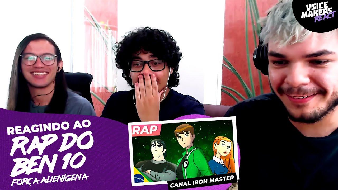 REACT Rap do Ben 10 - UNIVERSO NO MEU PULSO | IRON MASTER
