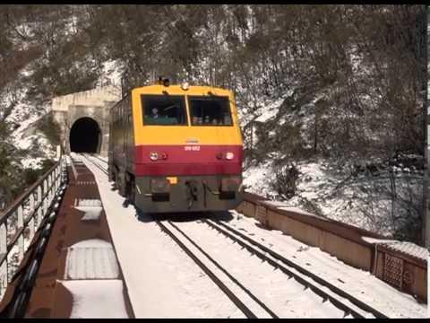 Podgorica Kolasin pruga KADROVI
