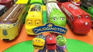 【Игрушечный поезд】14 Chuggington Поезда с английского детские песни (01041 ru)