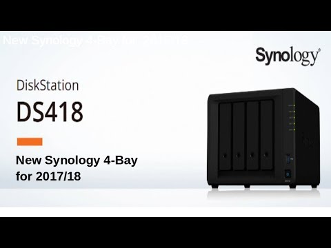 The DS418 Synology DS418 Diskstation – Another Desktop NAS revealed for  2017/18
