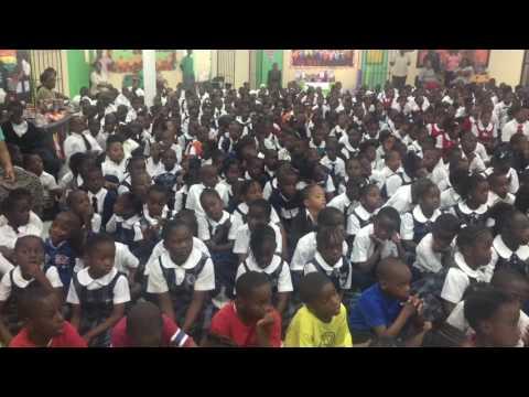 Rasing my Voice | Stephen Dillet Primary School | Nassau, Bahamas (Nov 2016)