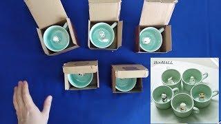 Кружки с AliExpress !!! Распаковка и обзор кружек из Китая с фигурками