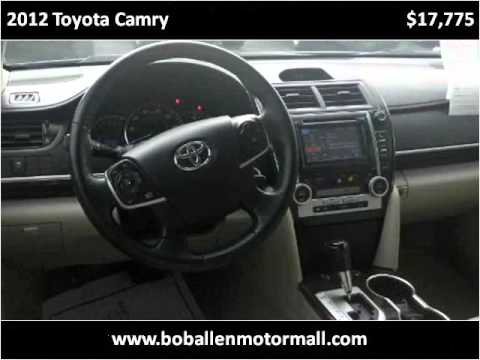 2012 toyota camry used cars danville ky youtube for Bob allen motor mall used cars