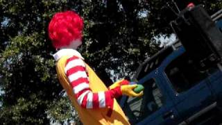 Ronald McDonald visit to Plainview . Texas