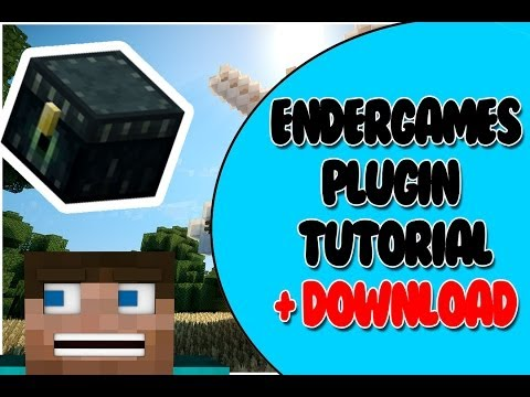 Bukkit Plugin: Endergames Tutorial | + DOWNLOAD!!!