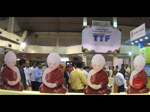 Travel & Tourism Fair - TTF 2017 (Part 1) | India's Biggest Travel Show, Kolkata, West Bengal, India