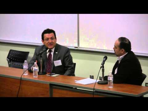 Hernan Guaracao speaks at Delaware County Community College's 2015 Latino Conference