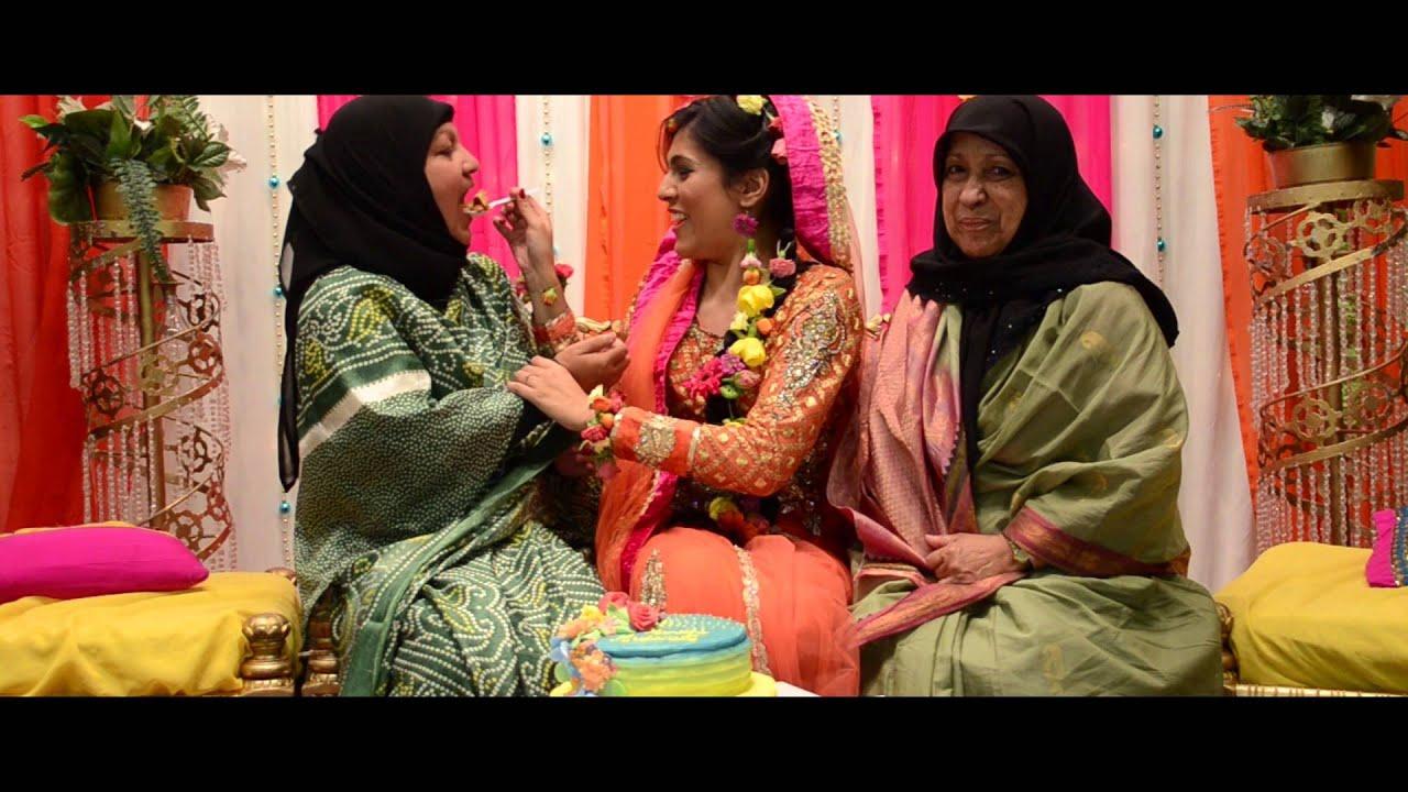Uzma S Mehndi Makeup : Pakistani bridal makeup for walima function