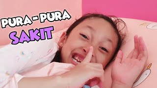 Aqilla Pura-Pura Sakit Biar Bisa Bolos Sekolah 😄 Drama Parodi Aqilla's Diary