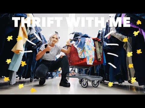 Come Thrift With Me | I lied, THIS IS MY BIGGEST THRIFT STORE HAUL | SPENDING OVER $100 THRIFTING