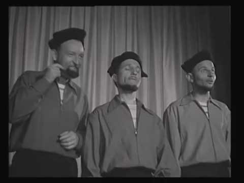 Les 4 Barbus chantent l'Ouverture du Barbier de Séville (1954)