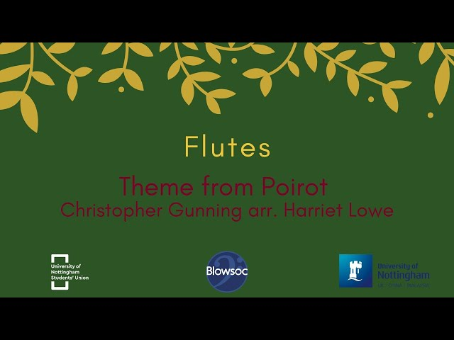🐣 Flutes, Theme From Poirot