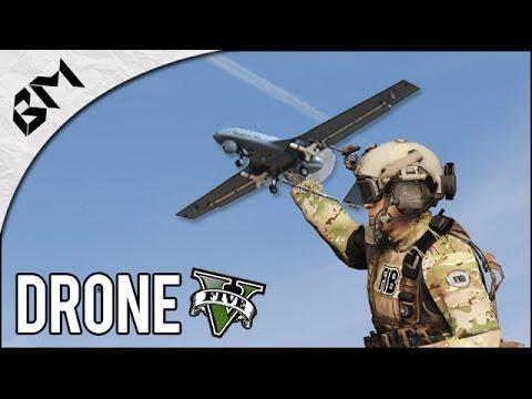 GTA 5 - LSPDFR Mini - DRONE TACTIQUE - Military Patrol (Drone Mod)