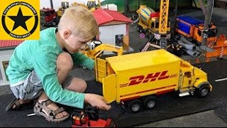 bruder toys spare parts shipped by dhl into bworld construction long play
