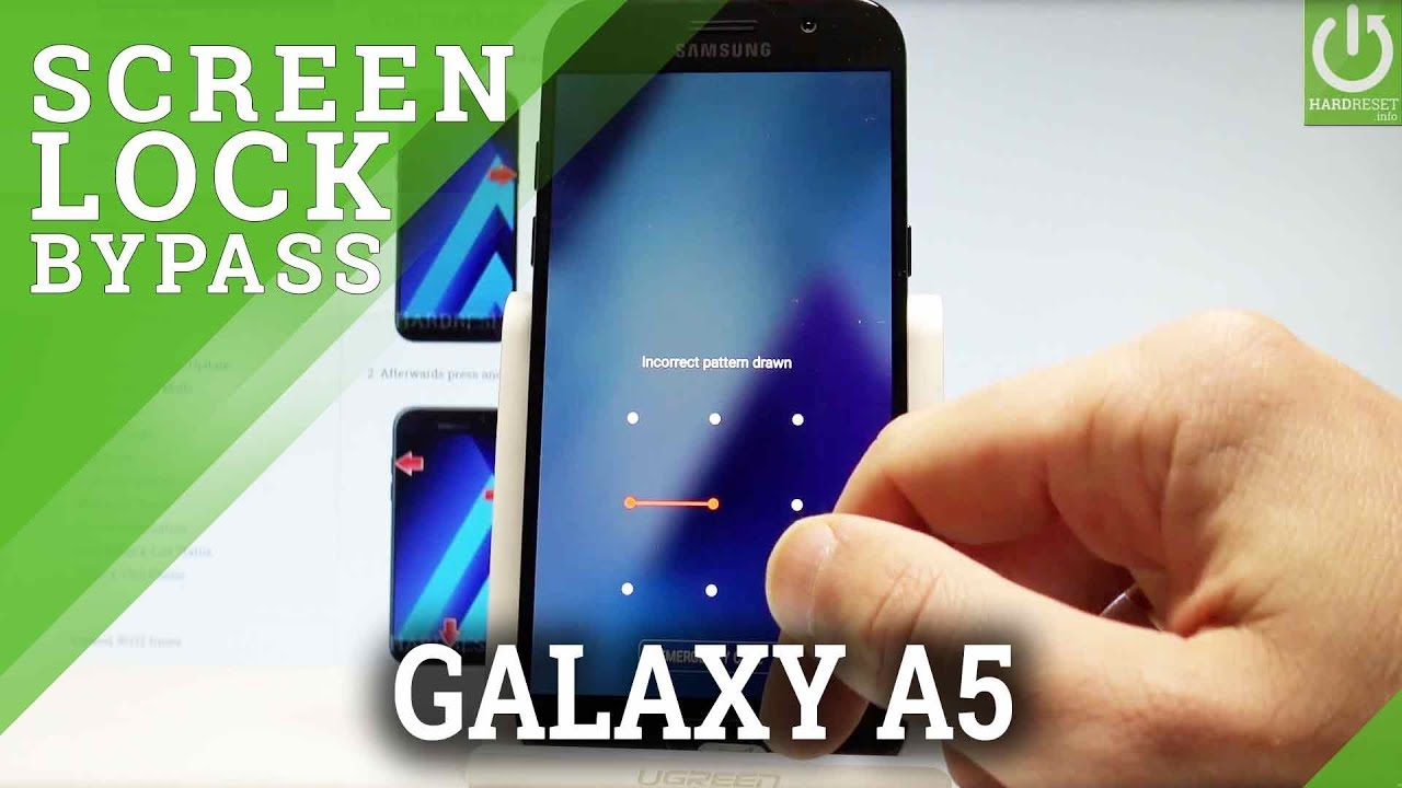 Hard Reset Samsung Galaxy A5 2017 Bypass Screen Lock Youtube
