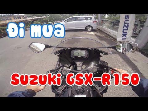 Đi mua Suzuki GSX-R150 ở Phổ Quang | SGX Review