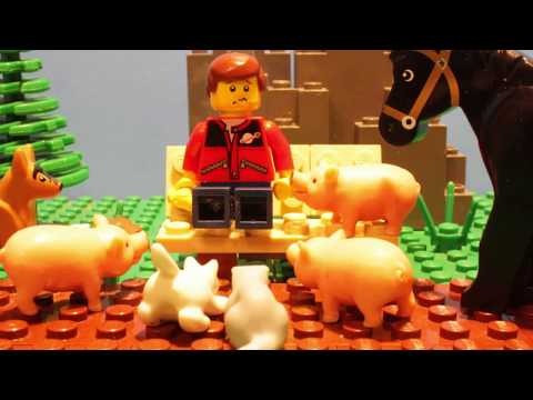 Lego | don't feed the animals!!!     (HD)