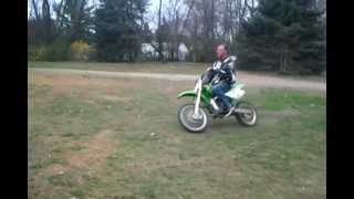 Kx80 Ripping Around & Busting His Ass!