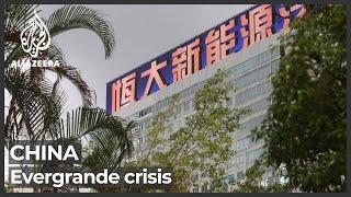 China's Evergrande default concerns loom large on nervous market