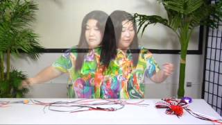 The Joy of Crafting 160/3 - Deluxe Double Braided Ribbon Lei