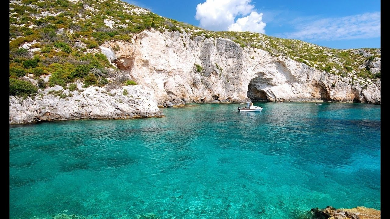 Top attractions and places in the Greek island Zakynthos Best