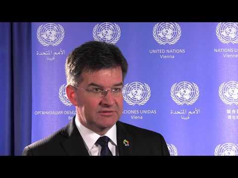 President of the UN General Assembly Miroslav Lajčák in Vienna