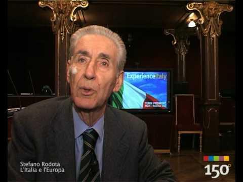 Stefano Rodotà - L'Italia e l'Europa