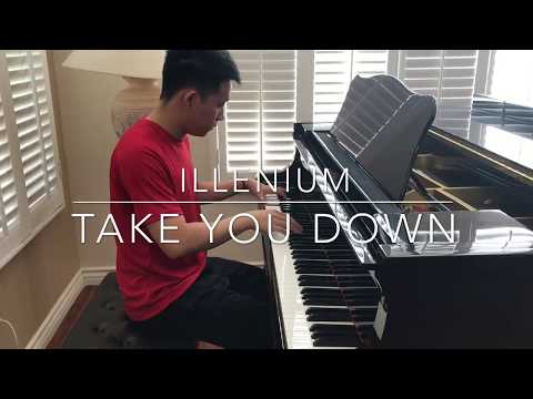 Illenium - Take You Down (unreleased) Piano Cover!