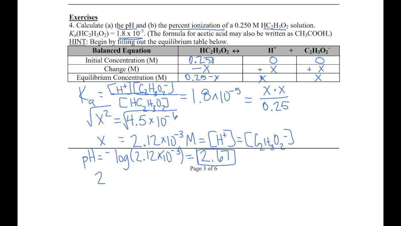 worksheet Acid Base Neutralization Worksheet acid base worksheet youtube worksheet