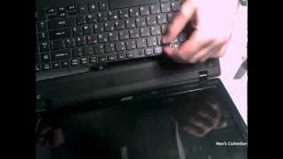 Замена клавиатуры в Acer Aspire 5742 | Replacement keyboard in Acer Aspire 5742