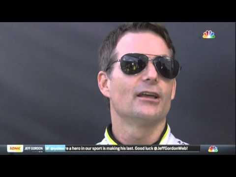 Jeff Gordon Mario Andretti Lewis Hamilton 2015 NASCAR Homestead