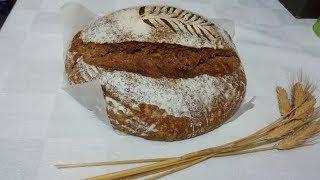 Ekşi mayalı tambuğday ekmeği nasıl yapılır, Whole wheat bread with sourdough