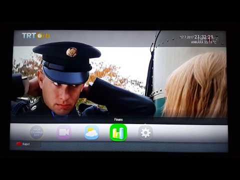 TRT 1 Hibrit TV İncelemesi (TRT artı Kırmızı Butona Basınız Nedir?)