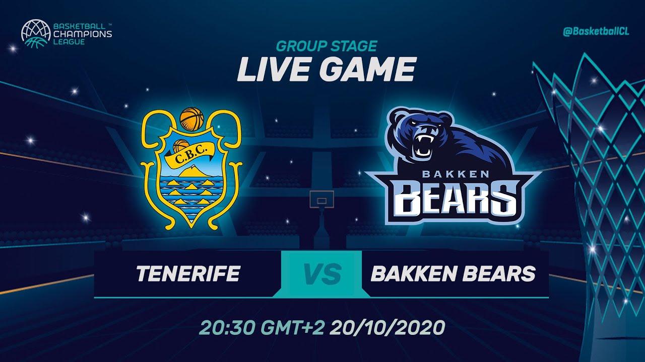 LIVE 🔴 Iberostar Tenerife v Bakken Bears