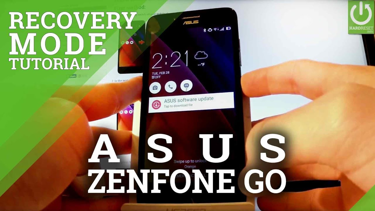 How to Enter Recovery Mode in ASUS Zenfone Go ZC500TG – Exit Recovery