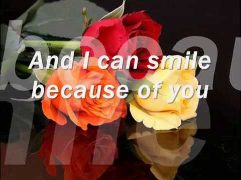 Because Of You  (Tony Bennet   Lyrics)