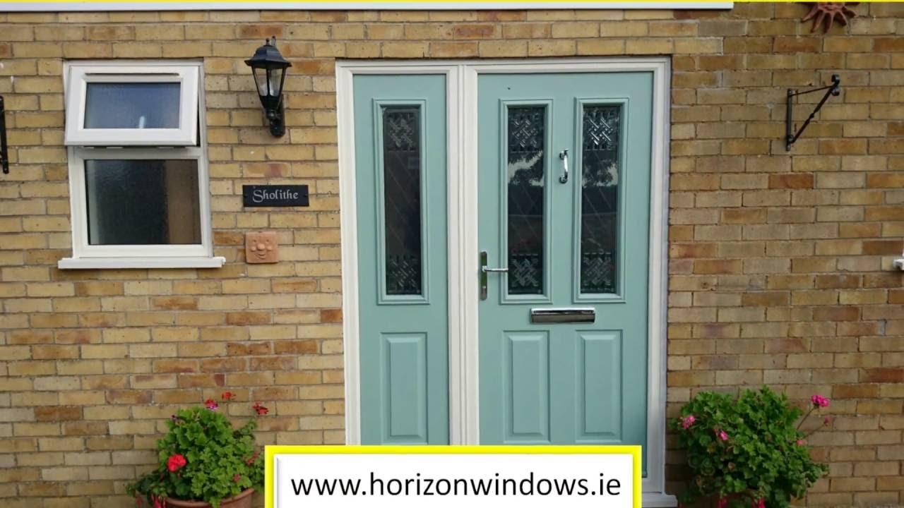 UPVC Front Doors Panel And Composite Doors Dublin Ireland - YouTube