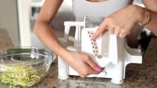 Como usar tu rallador de verduras spiralizer