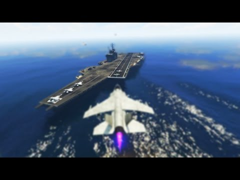 EPIC AIRCRAFT CARRIER HOUSE TOUR! (GTA 5 Online)
