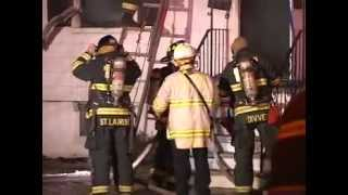3/6/07 CLIFTON NJ STRUCTURE FIRE FENNER AV & MAPLEWOOD AV