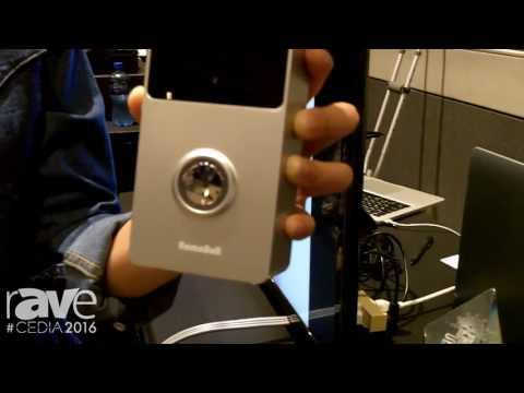 CEDIA 2016: Remocam Features RemoBell, A Wireless Video Doorbell
