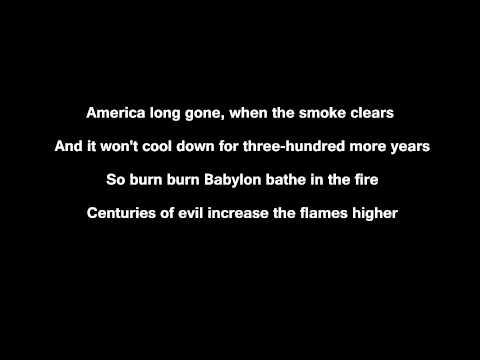 K-Rino - Let it burn [lyrics on screen]