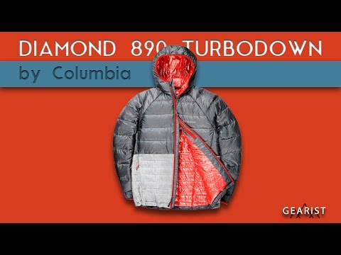 COLUMBIA DIAMOND 890 TURBODOWN HOODED JACKET REVIEW - Gearist