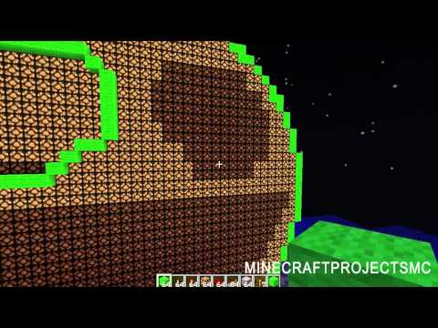 Working on the Redstone Lamp Deadmau5 Head.pt 2