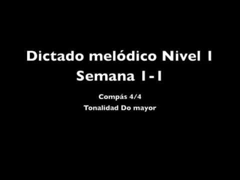 Dictado melódico Nivel 1 Semana 1-01